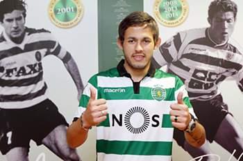 Marcelo Meli foi oficializado este sábado como reforço do Sporting.