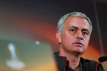 epa05614278 Manchester United manager Jose Mourinho attends a press conference in Istanbul, Turkey, 02 November 2016. Manchester United will face Fenerbahce Istanbul in the UEFA Europa League group A soccer match on 03 November 2016. EPA/TOLGA BOZOGLU