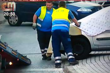 PJ recupera carro que atropelou adepto do Sporting junto ao Estádio da Luz