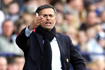 José Mourinho nos seus primeiros tempos em Inglaterra.