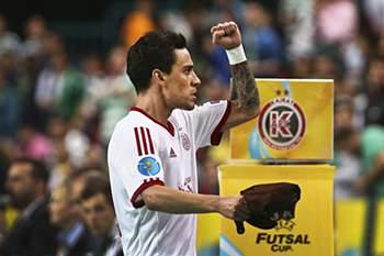Jogador marcou um dos golos do Kairat.