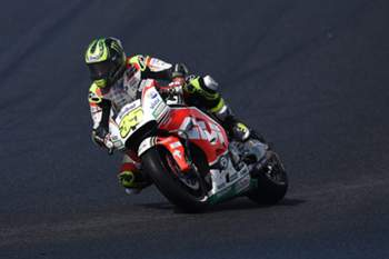 epa05597259 Cal Crutchlow of Britain for LCR Honda rides in the MotoGP Qualifying round 1 during the 2016 Australian MotoGP at Phillip Island, Victoria, Australia, 22 October 2016. The Australian Motorcycle Grand Prix is held on 23 October 2016 at the Phillip Island Grand Prix Circuit. EPA/TRACEY NEARMY AUSTRALIA AND NEW ZEALAND OUT