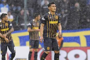 Teo Gutiérrez foi expulso no jogo com o Boca Juniors