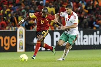 Mateus Galiano num Angola-Marrocos