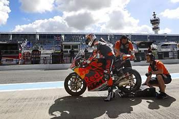 Miguel Oliveira com o sexto de tempo em Assen