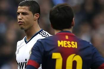 Messi e Ronaldo.
