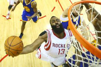 James Harden é a principal figura dos Houston Rockets