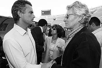 José Mourinho e Félix Mourinho