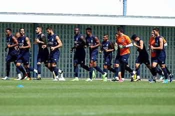 FC Porto treinou-se esta sexta-feira no Olival