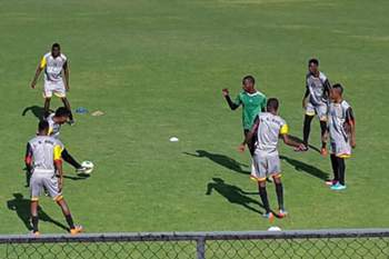 Treino do Desportivo da Huíla