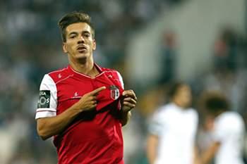 Pedro Santos fez o golo do Braga no terreno do V. Guimarães
