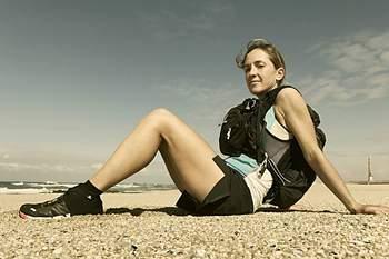 Ester Alves na Maratona das Areias