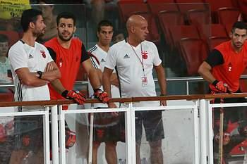 Pedro Nunes, treinador de hóquei em patins do Benfica