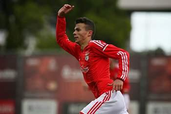 Diogo Gonçalves, jogador do Benfica B