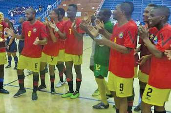 Preparação para o africano de futsal