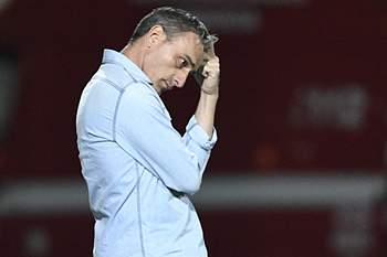 Paulo Bento, novo treinador do Olympiacos, em Arouca