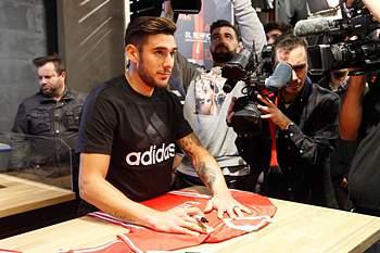 Salvio, jogador do Benfica