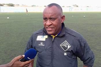 Gunga Fonseca, treinador da Académica de Porto Novo.