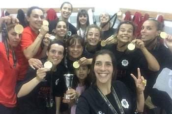 Del Negro vence a Taça Nacional de futsal feminino