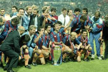 Equipa do Barcelona Wembley 1992