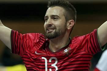 Jogador da seleção portuguesa de futsal.