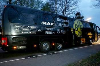 Autocarro do Borussia Dortmund