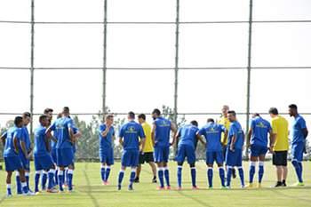 União da Madeira em mais um treino