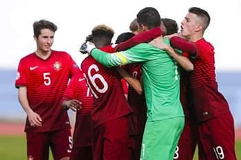 Futebol: Seleção portuguesa de sub-16