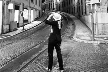 Maria Sharapova esteve nas marchas de Lisboa