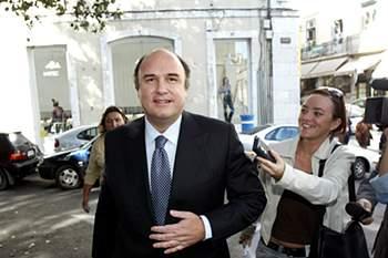 O ex-presidente do Benfica, Joao Vale e Azevedo.