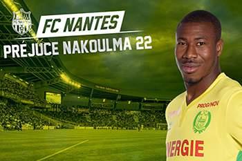 """Nakoulma """"muito satisfeito"""" por reforçar Nantes de Sérgio Conceição"""