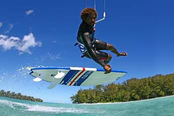 Mitú Monteiro:Kite surf