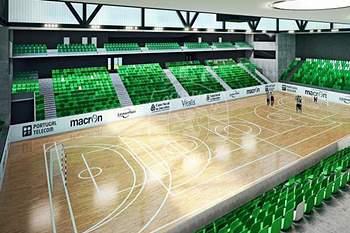 O Sporting apresentou o projeto para o Pavilhão João Rocha
