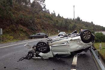 Hamdou Elhouni sofre acidente