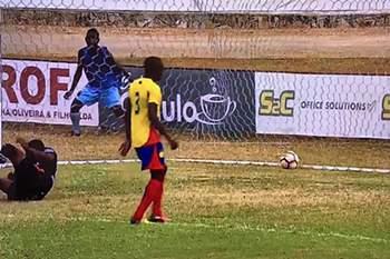 Paizinho fez o golo da vitória do Recreativo do Libolo sobre o Petro Luanda.