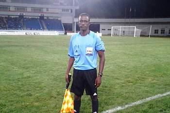 Jerson Emiliano, árbitro angolano