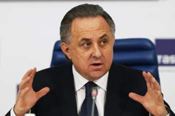 epa05351621 (FILE) A file picture dated 25 December 2015 of Russian Sports Minister Vitaly Mutko during his end of the year press conference in Moscow, Russia. A documentary by German state broadcaster ARD alleged Russian Sports Minister Vitaly Mutko of being implicated in latest doping allegations by helping to cover up doping offence, the Guardian newspaper reported late 07 June 2016. EPA/YURI KOCHETKOV *** Local Caption *** 52488040