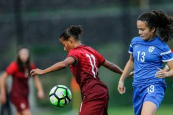 Futebol feminino: Sub-17 (Portugal-Finlândia)