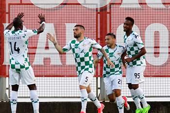 Moreirense celebra golo