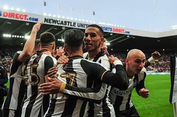 Newcastle festeja vitória