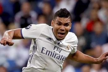 Casemiro, médio do Real Madrid
