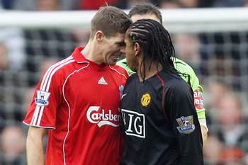 Steven Gerrard e Anderson