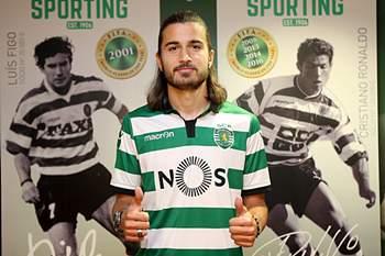 Mattheus Oliveira foi contratado pelo Sporting C. Portugal ao Estoril Praia.