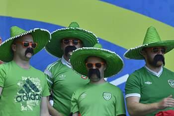 Adepto irlandeses no Euro2016