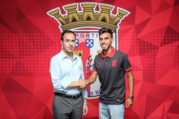 Ricardo Horta com António Salvador