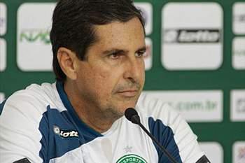 Treinador do Goiás.