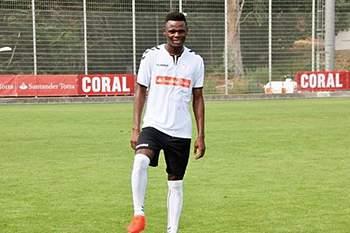 Jogador moçambicano Geraldo treina no Nacional em Portugal