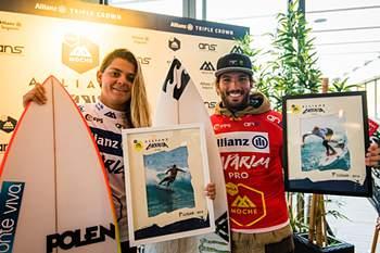 Frederico Morais e Carol Henrique foram os vencedores do Allianz Caparica Pro