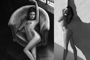 Irina Shayk e Sara Sampaio juntas e nuas
