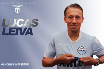 Lucas Leiva assina pela Lazio